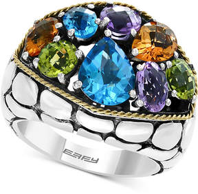 Effy Balissima by Multi-Gemstone Ring (6-1/8 ct. t.w.) in Sterling Silver & 18k Gold