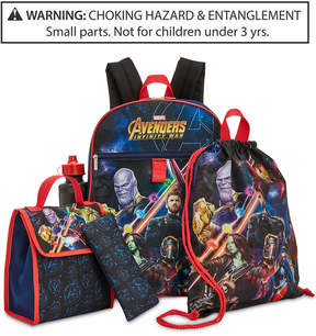 Marvel Marvel's Avengers Little & Big Boys 5-Pc. Backpack & Accessories Set