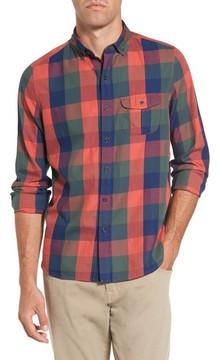 Michael Bastian Men's Trim Fit Plaid Sport Shirt