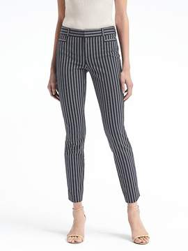 Banana Republic Sloan Skinny-Fit Bi-Stretch Stripe Pant