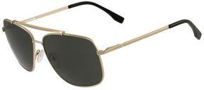 Lacoste Men's Metal Navigator Sunglasses