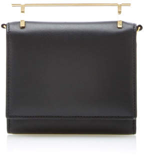 M2Malletier Cabiria Leather Wallet In Black