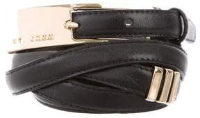 St. John Double Wrap Belt