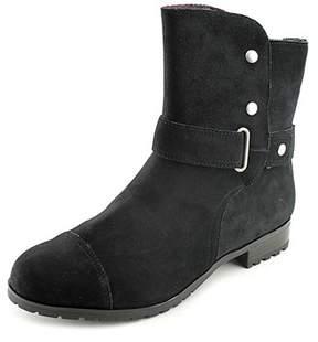 Giani Bernini Womens Lucii Leather Cap Toe Ankle Fashion Boots Fashion Boots.