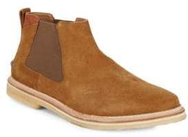 Tommy Bahama Lace Back Suede Chelsea Boots