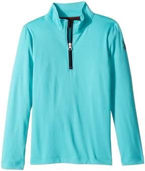 Spyder Savona T-Neck Top Girl's Long Sleeve Pullover