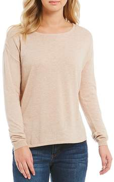 Copper Key Crew Neck Long Sleeve Sweater