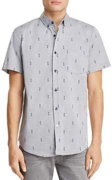 Sovereign Code Crystal Cove Regular Fit Short Sleeve Button-Down Shirt