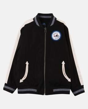 Stella McCartney eastwood reversible bomber jacket.