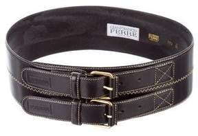 Gianfranco Ferre Wide Waist Belt