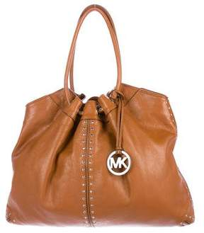 MICHAEL Michael Kors Studded Leather Tote