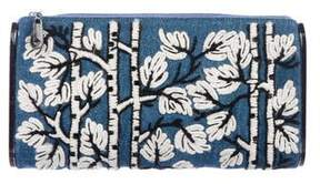 Edie Parker Embroidered Lara Clutch