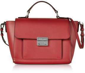 Emporio Armani Smooth Leather Top-handle Shoulder Bag