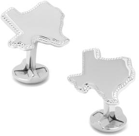 Ravi Ratan Sterling Silver Texas Rope Border Cufflinks