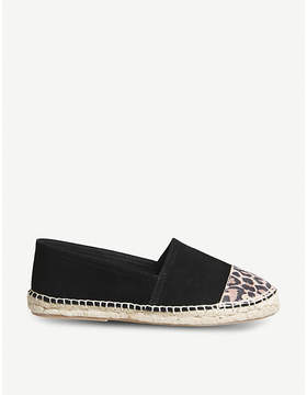 Office Lucky slip-on suede espadrilles