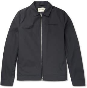 Oliver Spencer Slim-Fit Cotton Jacket