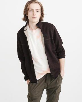 Abercrombie & Fitch Sweater Fleece Lined Mock