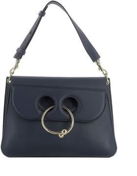 J.W.Anderson Blue Leather Shoulder Bag