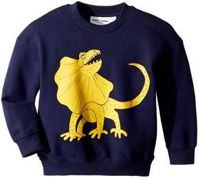 Mini Rodini Draco Solid Print Sweatshirt Boy's Sweatshirt