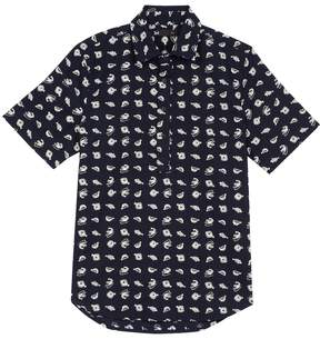 3x1 Men's Popover Cotton Sportshirt