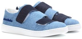 Acne Studios Triple denim sneakers