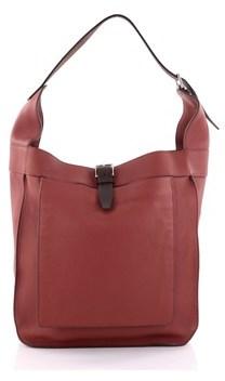 Hermes Pre-owned: Marwari Handbag Clemence Gm. - RED - STYLE