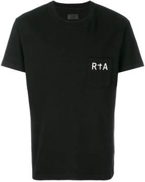 RtA logo chest pocket T-shirt