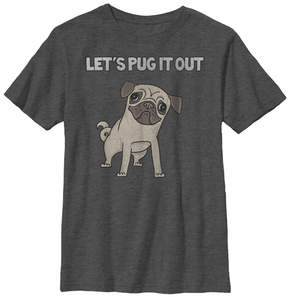 Fifth Sun Charcoal Heather 'Let's Pug It Out' Tee - Boys