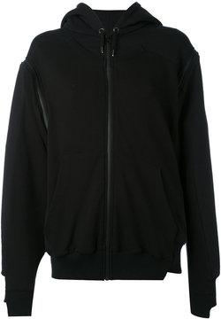 A.F.Vandevorst zipped hoodie