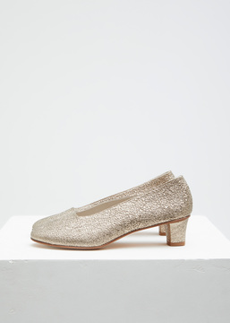 Martiniano Platinum High Glove Heel