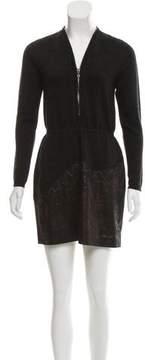 D-Exterior D. Exterior Long Sleeve Dress