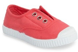 Cienta Toddler Girl's Laceless Slip-On Sneaker