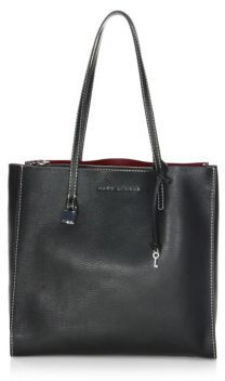 Marc Jacobs The Grind Leather Tote