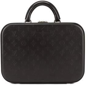 Louis Vuitton Black Monogram Glace Valisette MM Case (Pre Owned)
