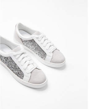 Express glitter sneakers