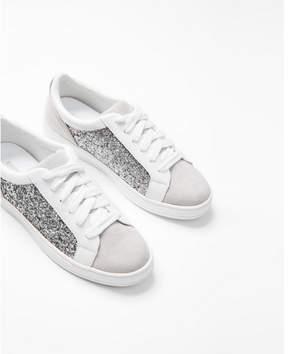 Express glitter sneakers