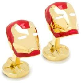 Cufflinks Inc. Cufflinks, Inc. Marvel Comics 3D Iron Man Helmet Cuff Links