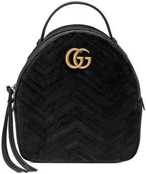 Gucci GG Marmont velvet backpack
