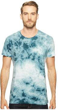 Alternative Cotton Jersey Tie-Dye Distressed Heritage T-Shirt Men's Clothing