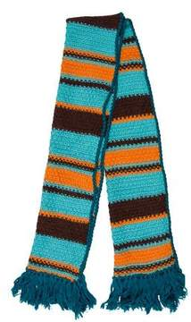 Missoni Wool Fringe Scarf w/ Tags