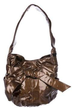 Kooba Patent Leather Bucket Bag