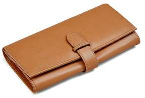Aspinal of London London Ladies Purse Wallet In Smooth Tan
