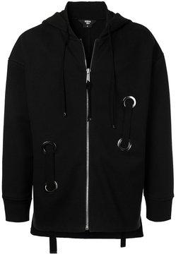 General Idea eyelet hoodie