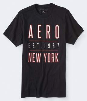 Aeropostale Embroidered Aero New York Graphic Tee