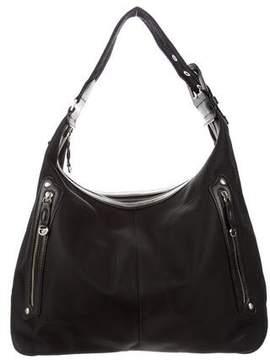 Tumi Leather-Trim Shoulder Bag