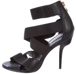 BCBGMAXAZRIA Multistrap Crossover Sandals