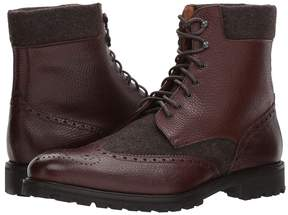 Matteo Massimo Mix Media Wing Boot Men's Dress Pull-on Boots