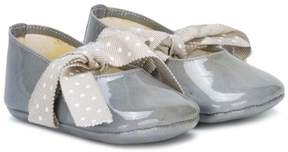 Pépé grosgrain ribbon round toe ballerina flats