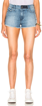 RtA Olivia High Waist Short in Blue.