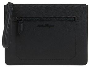 Salvatore Ferragamo Calfskin Leather Portfolio